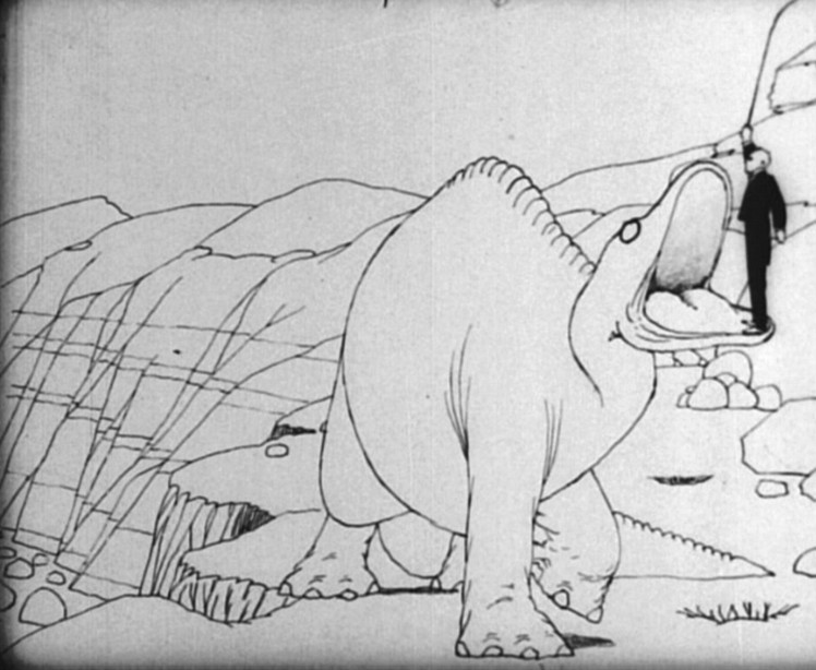 Winsor McKay. Gertrude the dinosaur, 1914.