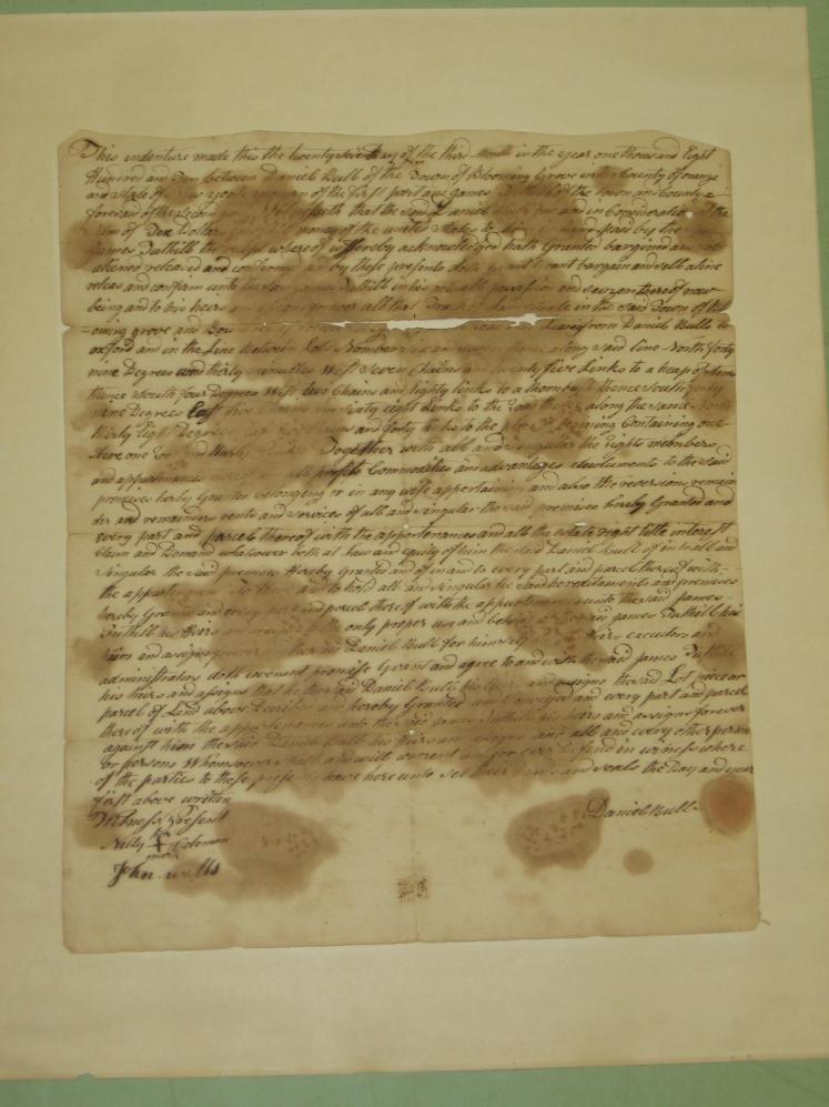 Daniel Bull Deed 1810 010