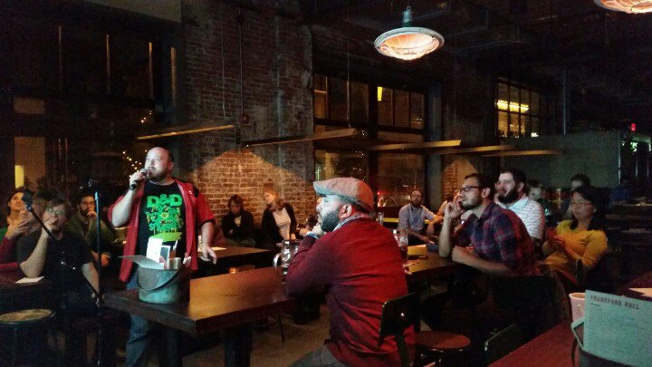 Matt Shoemaker at Nerd Nite 2016