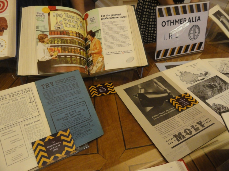 display of archives & library materials from the Othmeralia tumblr