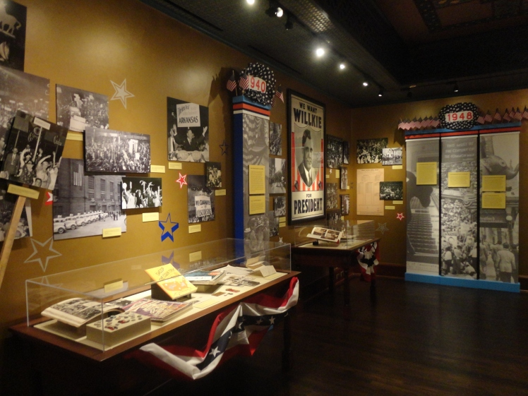Display of political campaign ephemera